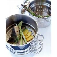 Nautilus steamer og pastaindsats