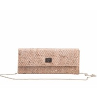 Tall wallet clutch - Slange looh