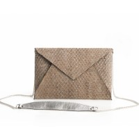 Envelope Clutch - Slange look