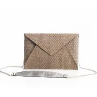 Envelope Clutch - Slange look